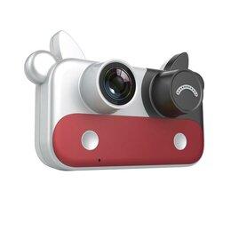 """Фотоаппараты - Детский фотоаппарат с силиконовым чехлом """"Коровка"""", 0"""