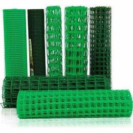 Заборчики, сетки и бордюрные ленты - Сетка пластиковая садовая для ограждений, 0