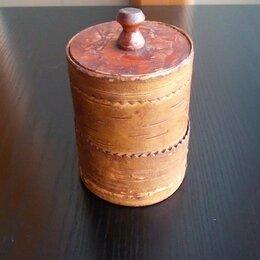 Сувениры - Туесок из бересты, 0
