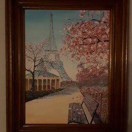 """Картины, постеры, гобелены, панно - Картина акрилом """"Елисейские поля """", 0"""