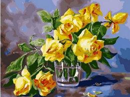 Раскраски и роспись - Картины по номерам Paintboy Желтые розы в стакане, 0