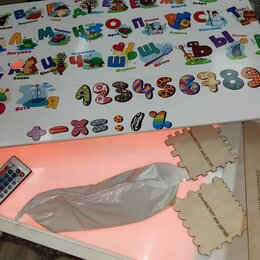 Развивающие игрушки - планшет для рисования песком, 0