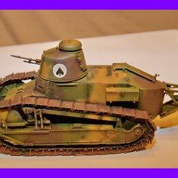 Сборные модели - 1/35 продажа модель танка Рено ФТ-17 пулеметный , 0
