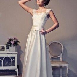 Платья - Шелковое свадебное платье 44-46 р., 0