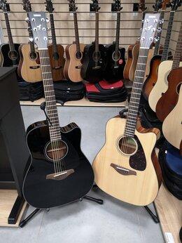 Акустические и классические гитары - Новые гитары Yamaha FGX800C BL и N, 0