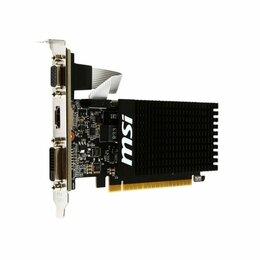 Видеокарты - Видеокарта MSI GT 710 1Gb (GT 710 1GD3H LP), 0