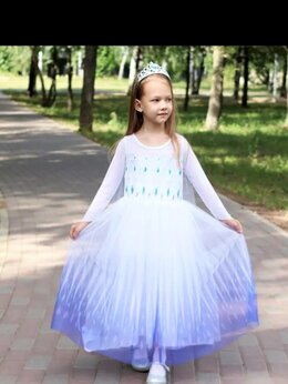 """Платья и сарафаны - Белое платье Эльзы """"Холодное сердце 2"""" на…, 0"""
