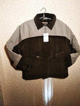 Куртки - Новая мужская зимняя куртка из хб микровельвета …, 0