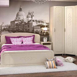 Кровати - Модульная система для спальни ВИКТОРИЯ МДФ, 0