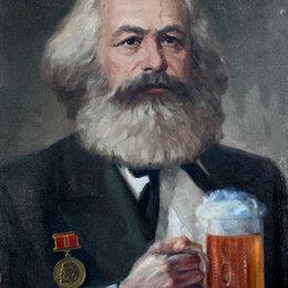 Картины, постеры, гобелены, панно - Карл Маркс, 0