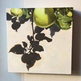 Картины, постеры, гобелены, панно - Картина маслом. Полдень в саду, 0