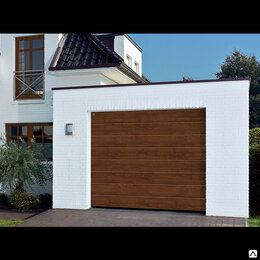 Заборы, ворота и элементы - Секционные ворота Дорхан 3000х3000, 0
