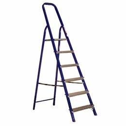 Лестницы и стремянки - Стремянки АЛЮМЕТ Стремянка стальная 6 ступеней…, 0