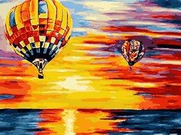 Картины, постеры, гобелены, панно - Картина по номерам Полет на шаре 40*50, 0