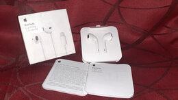 Гарнитуры для проводных телефонов - Наушники earpods iphone a1748, 0