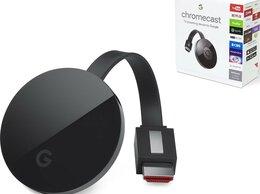 ТВ-приставки и медиаплееры - Медиаплеер Google Chromecast Ultra G7 s, 0