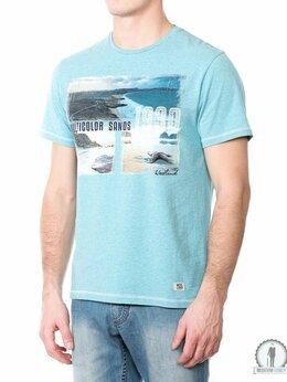 Футболки и майки - Голубая футболка W3397 AQUA_MELANGE, 0