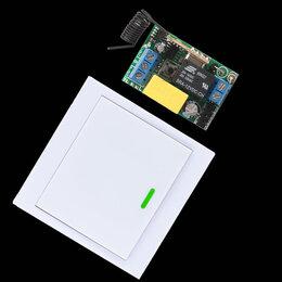 Системы Умный дом - Беспроводной выключатель. Обычный. Проходной. Перекрёстный., 0