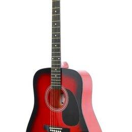 Акустические и классические гитары - Fabio SA105, Red акустическая гитара, 0