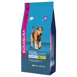 Корма  - Сухой корм Eukanuba Dog Mature Senior Large…, 0