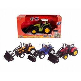 Машинки и техника - Трактор фермерский Dickie Toys, 0