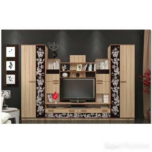 Гостиная Багира по цене 21200₽ - Шкафы, стенки, гарнитуры, фото 0