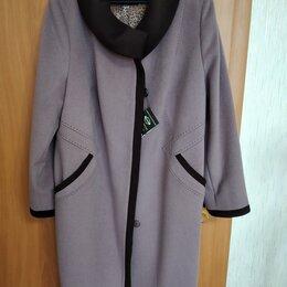 Пальто - Пальто женское демисезонное 62 размер, 0
