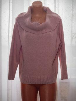 Блузки и кофточки - Свитер розовый трикотвжный, 0