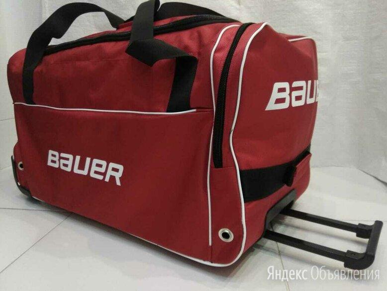 Баул Хоккейный спортивная сумка на колесах. Доставка по цене 2990₽ - Аксессуары, фото 0