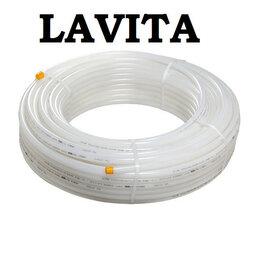 Комплектующие для радиаторов и теплых полов - Труба для теплого пола из сшитого полиэтилена PE-RT 20х2 Lavita, 0