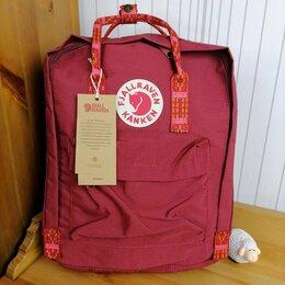 Рюкзаки - Рюкзак Kanken Classic (Ox Red - Folk Pattern), 0