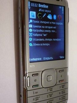 Мобильные телефоны - Новый Nokia N79 (оригинал,изготовлен в Финляндии)., 0