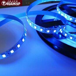 Светодиодные ленты - Светодиодная лента 12V 120LED 9,6W синяя, 0