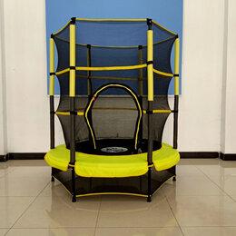 Каркасные батуты - Детский батут dfc jump kids 55 дюймов с защитной…, 0