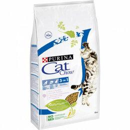 Корма  - Purina Cat Chow  Feline 3 in 1  для кошек с…, 0