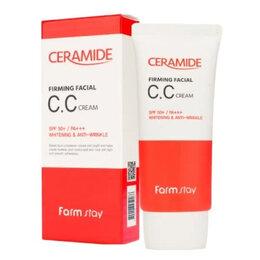 Для лица - СС крем с керамидами FarmStay Ceramide Firming…, 0
