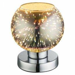 Настольные лампы и светильники - Настольная лампа декоративная Globo Koby 15845T, 0