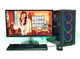 Настольные компьютеры - Игровой i5-9400F+ GTX 1650 4Gb+ SSD+ DDR4 +Монитор, 0