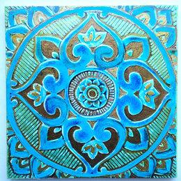 Керамическая плитка - плитка керамическая на стену.  Ручная работа , 0