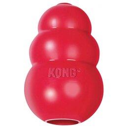 Игрушки  - Kong Dog Classic 8 см Особопрочная игрушка для…, 0