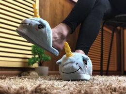 """Домашняя обувь - Домашние тапочки """"Единороги"""", 0"""