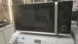 Микроволновые печи - Микроволновая печь LG MF6588PRFB , 0