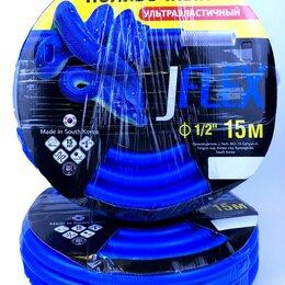 Шланги и комплекты для полива - Шланг поливочный  ф-12,5 мм  15 м. Сделанно в Ю. Кореи, 0