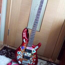 Электрогитары и бас-гитары - Бас-гитара Cort CBP-DLX-CRS, 0