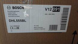 Вытяжки - Вытяжка для кухни bosch dhl555bl, 0