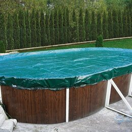 Тенты и подстилки - Временное укрытие для бассейна, 0