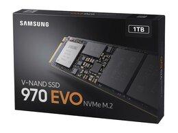 Внешние жесткие диски и SSD - SSD диск samsung 1Tb 970 EVO Plus M.2 MZ-V7S1T0BW, 0