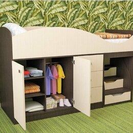 Кровати - Кровать детская со шкафом и комодом…, 0