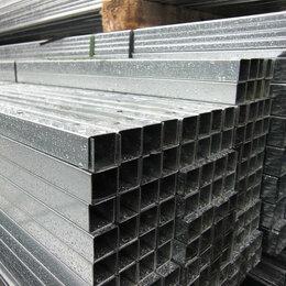 Уголки, кронштейны, держатели - Профиль для ГКЛ направляющий ПН 50х40х3000 мм, толщ. 0,5 мм в Иркутске., 0