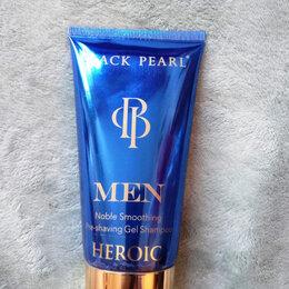 Средства для бритья - Мужской гель-шампунь перед бритьем из Израиля, Black Pearl, 0